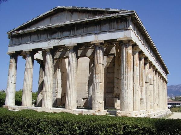 Templo de Hefesto em Atenas.