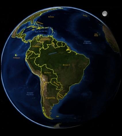 Planeta Terra - Foto de Satélite