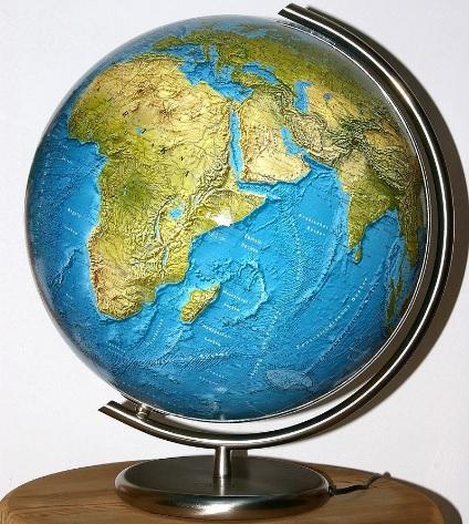 Planeta Terra - Globo Terrestre Escolar