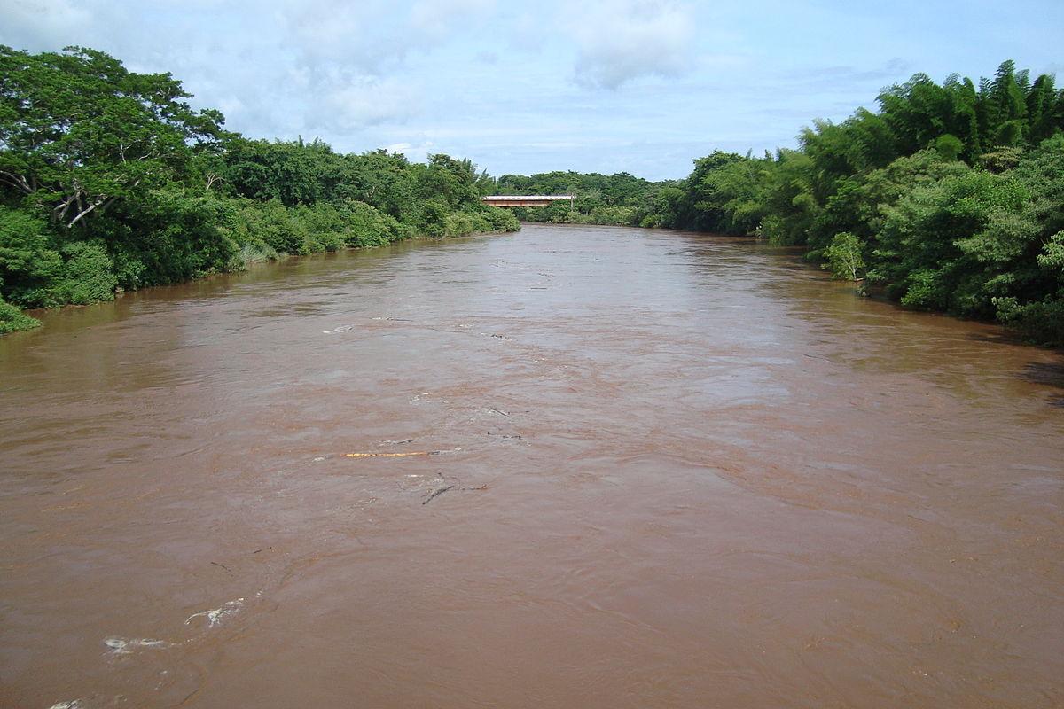 Rio Miranda na região de Corumbá (MS)