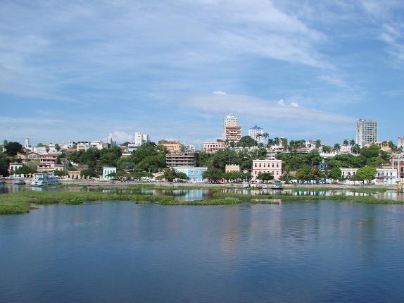 Corumbá (MS), cidade situada às margens do rio Paraguai