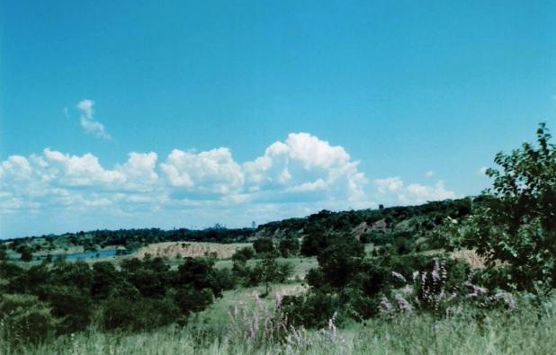 Cascalheira, paisagem do Cerrado em Três Lagoas (MS)
