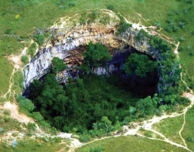 Buraco das Araras, no município de Jardim (MS)