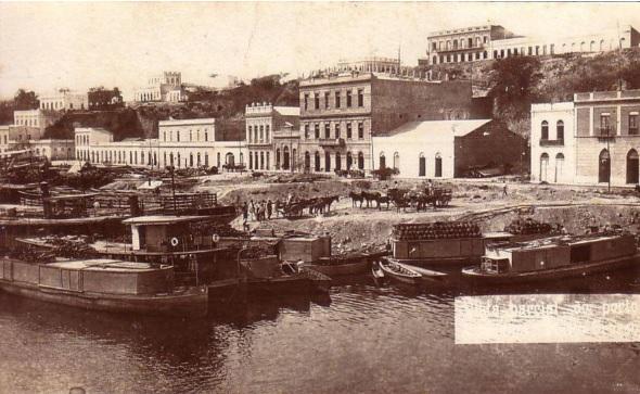 Porto do rio Paraguai, Corumbá (MS)
