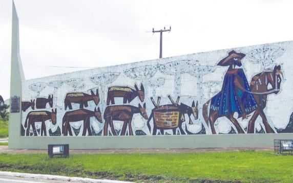 Tropeirismo, atividade que deu origem à cidade da Lapa.