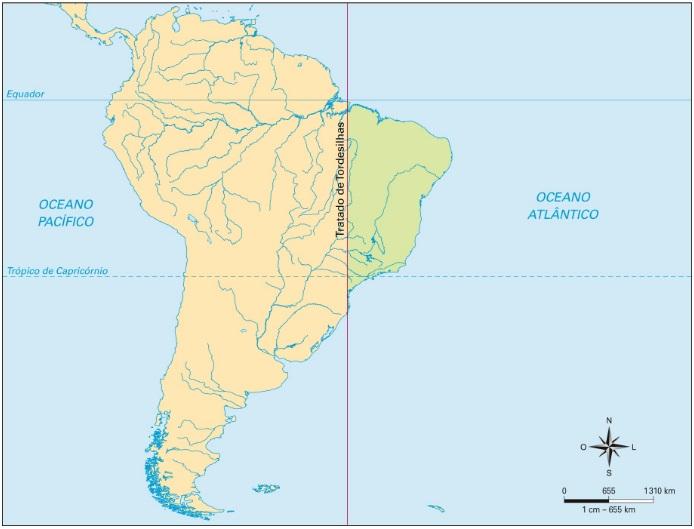 A história da configuração do território brasileiro