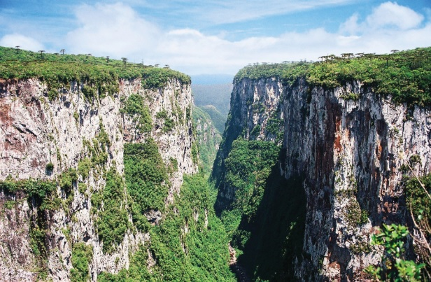 Áreas de preservação do estado de Santa Catarina