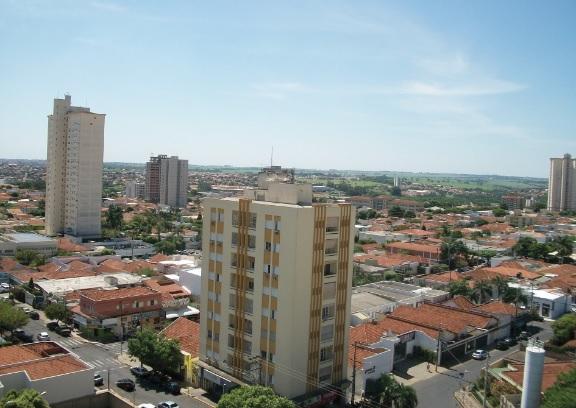 Vista aérea da região de Araçatuba (SP).