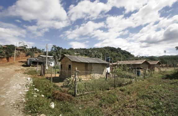 Comunidade quilombola de Pedro Cubas no Vale do Ribeira. Eldorado (SP).